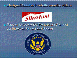 Slim and Fit president's challenge